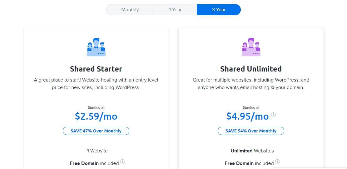 Best Cheap Hosting - DreamHost Plans