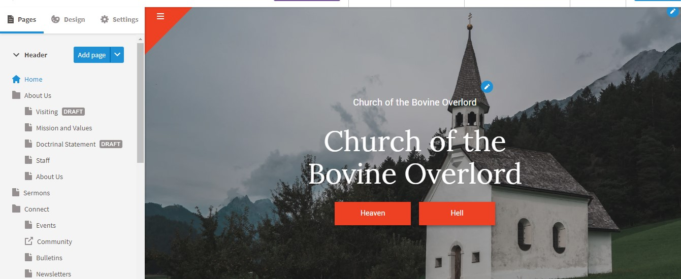 Best Church Website Builder - Faithlife Ease of Use
