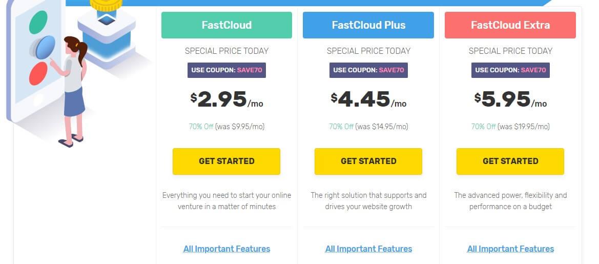Best Cheap Hosting - FastComet Plans