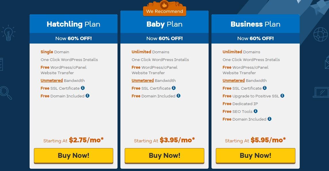 Best Cheap Hosting - HostGator Plans