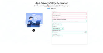 Firebase App Privacy Policy Generator