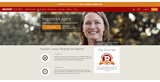 Rocket Lawyer Registered Agent Service