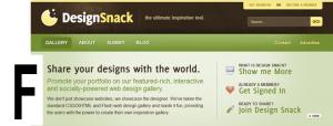 F-Shape Website Layout